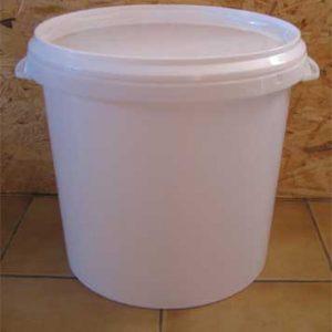 seau plastique pour toilette sèche 27 litres