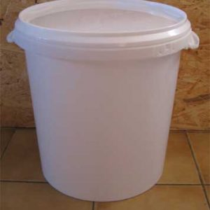 seau plastique pour toilette sèche 30 litres
