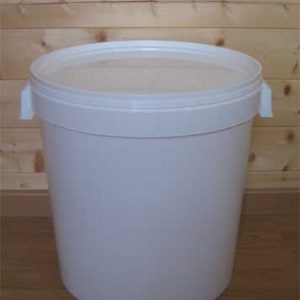 seau plastique pour toilette sèche 32 litres